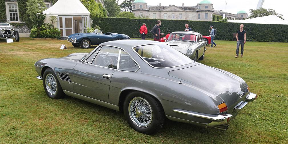 1960 Aston Martin DB4 GT Bertone