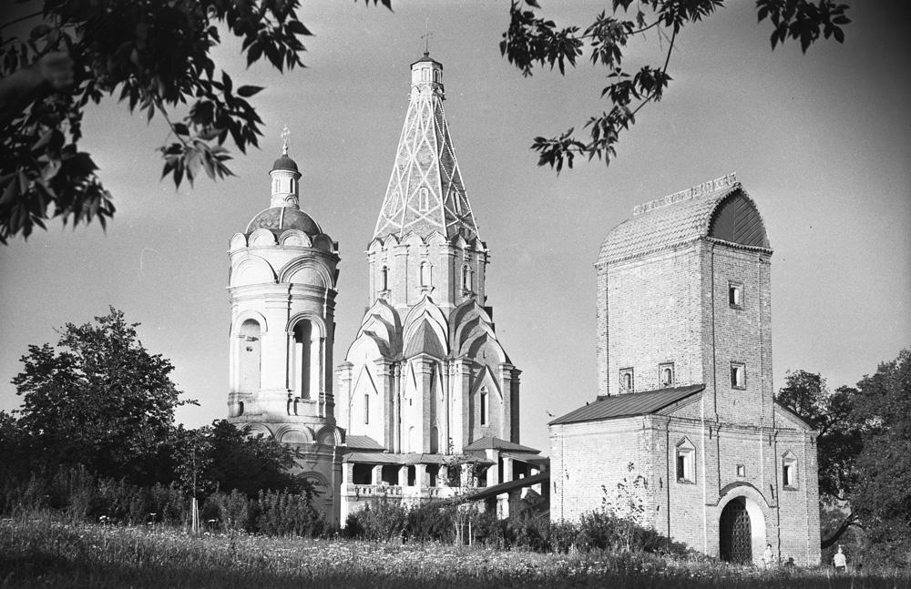 Историко-архитектурный музей в селе Коломенское, 1968 год