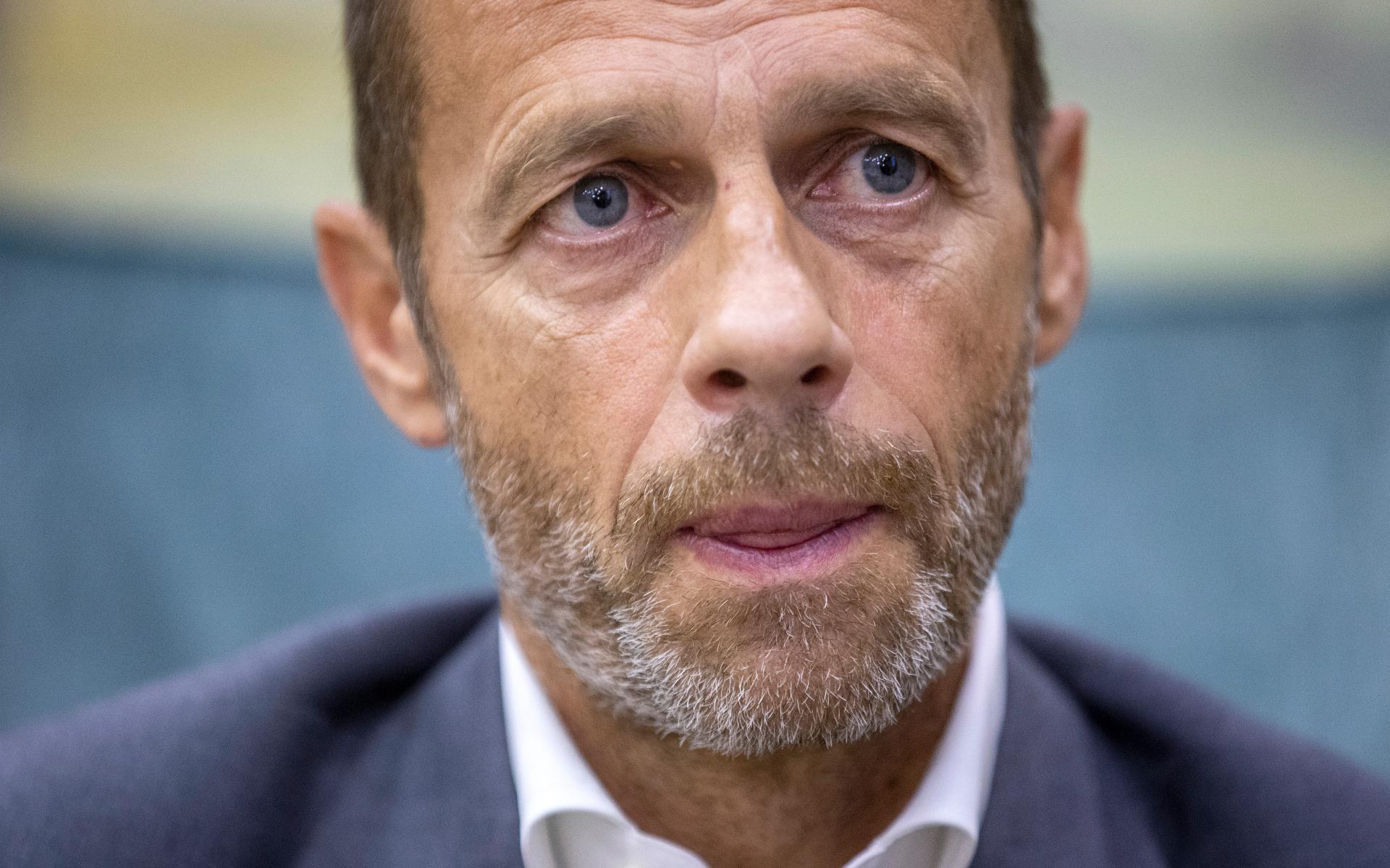 Глава УЕФА сообщил о санкциях в отношении клубов Суперлиги :: Футбол :: РБК Спорт