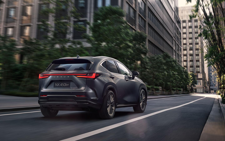 Новый Lexus NX 2021