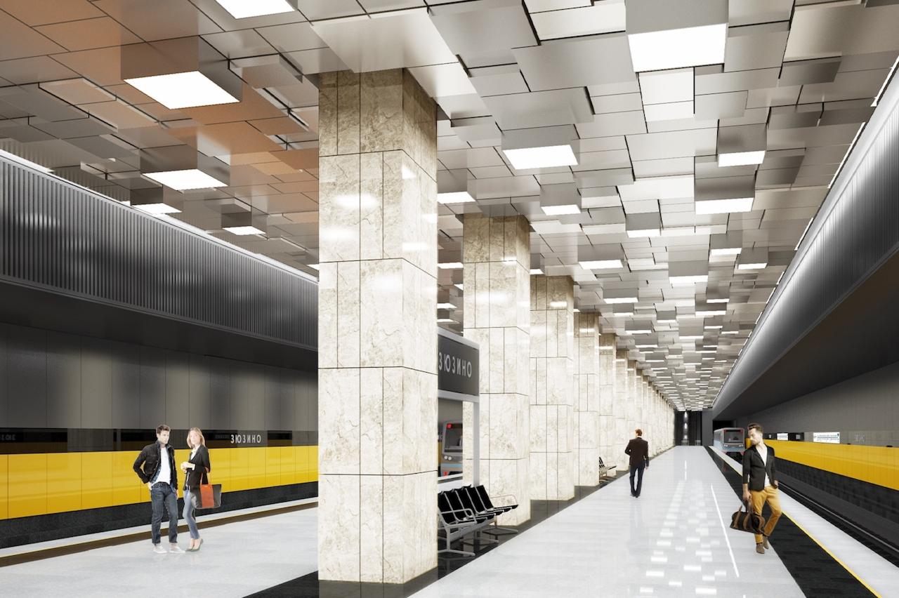 Проект станции «Зюзино»