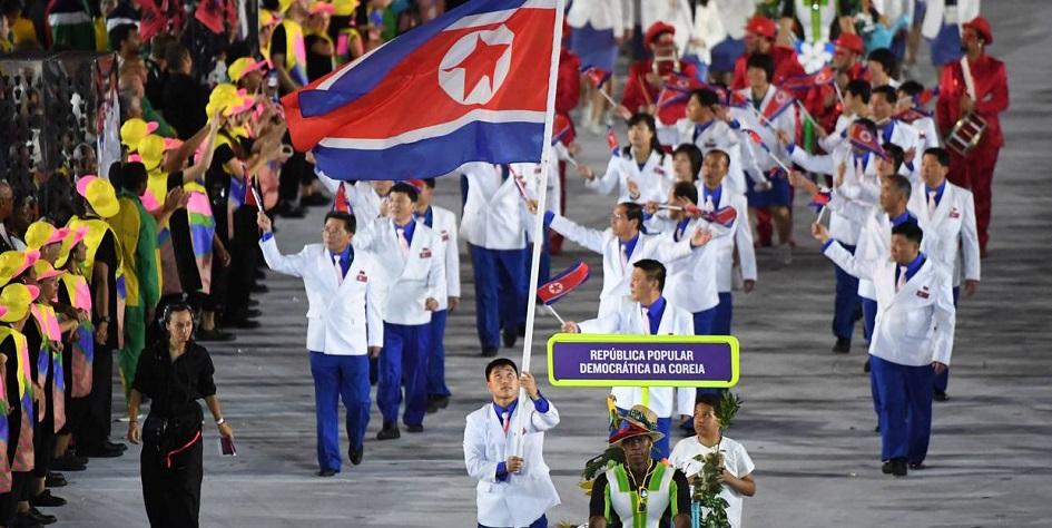 КНДР и Южная Корея договорились пройти под одним флагом на Олимпиаде