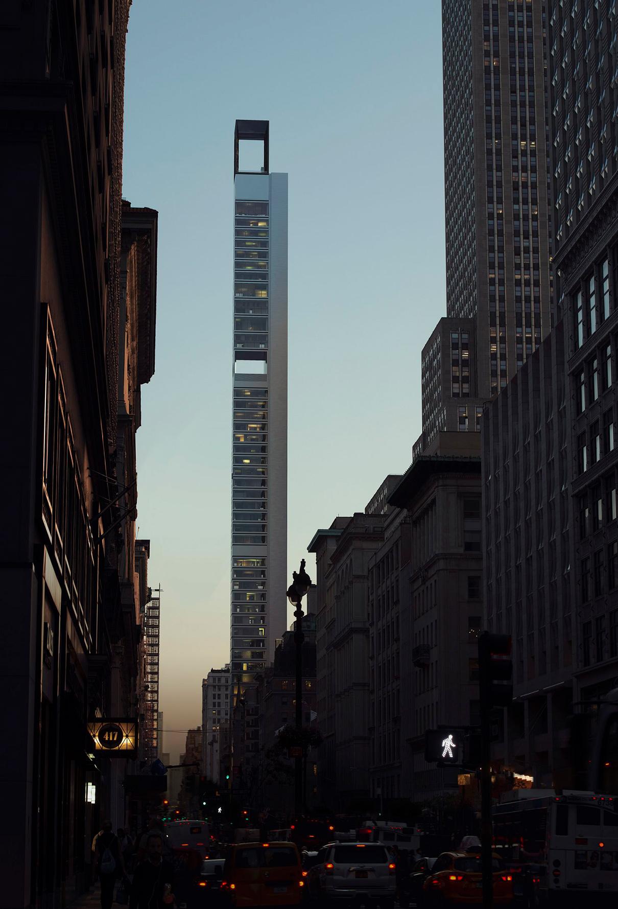 Проект небоскреба 262 Fifth Avenue. Нью-Йорк, 2015 год — н. в.