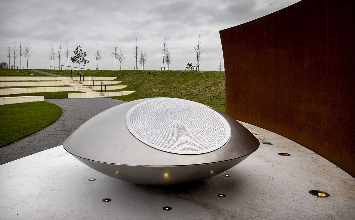 Mемориал жертвам катастрофы MH17 в Амстердаме