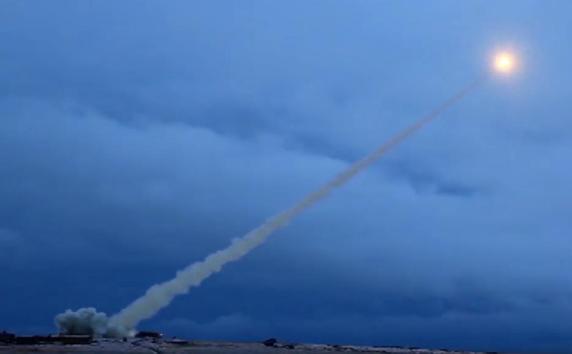 Испытания крылатой ракеты с ядерным двигателем