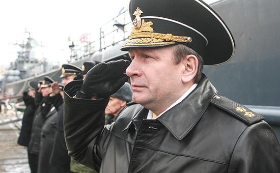 Главком ВМФ России Виктор Чирков