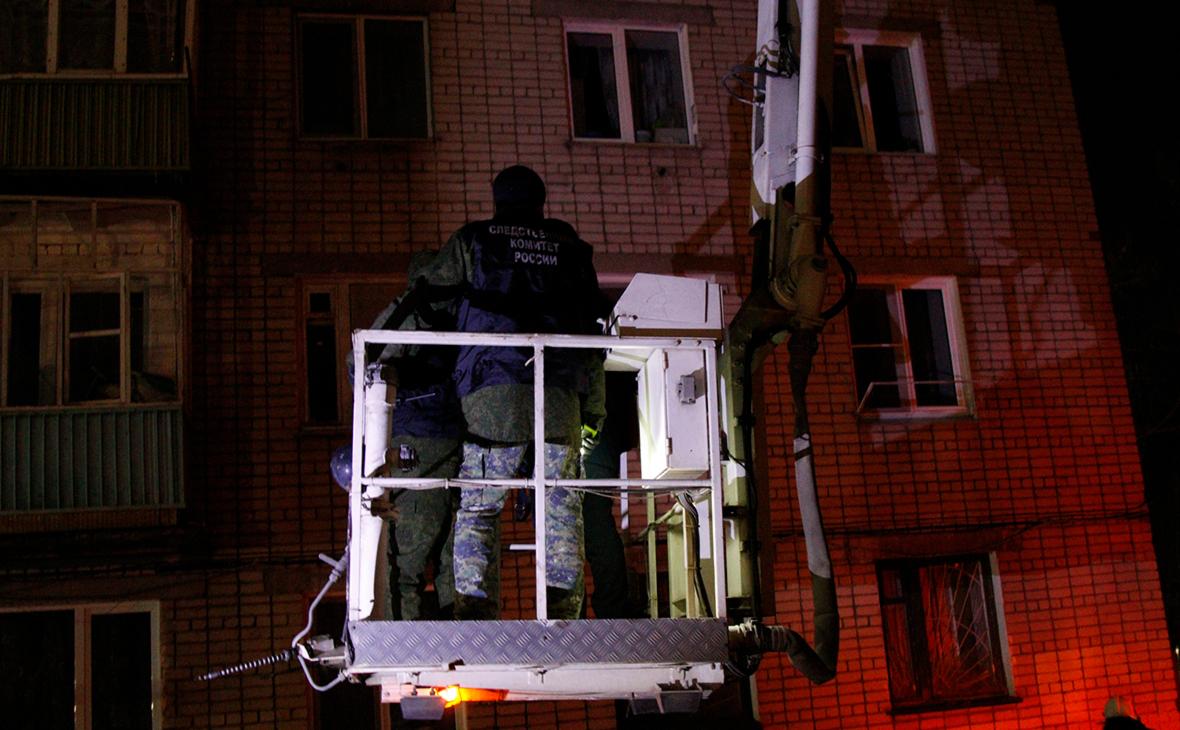 В Зеленодольске после взрыва газа ввели режим ЧС