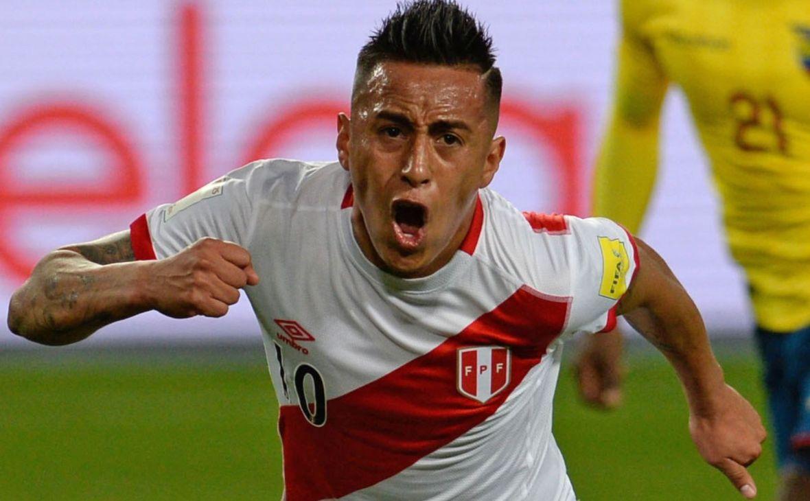 Полузащитник сборной Перу Кристиан Куэва продолжит карьеру в «Краснодаре»  :: Краснодар :: РБК