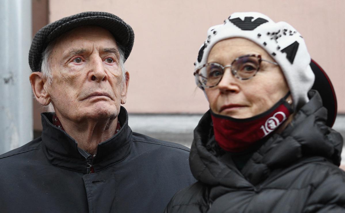 Василий Лановой и Ирина Купченко