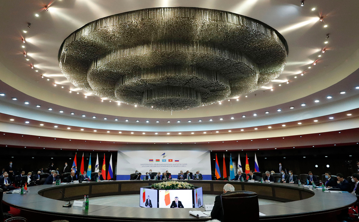 Заседание совета ЕАЭС