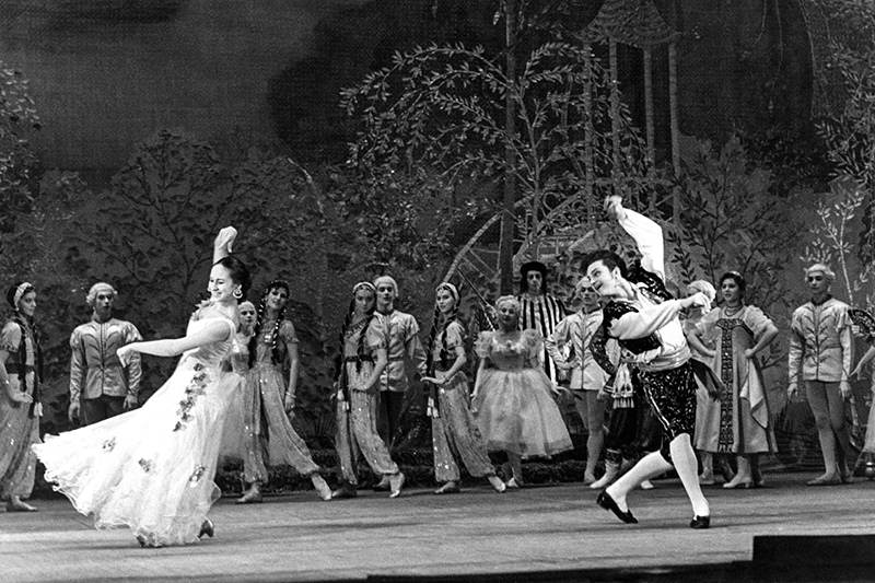 Владимир Зельдин родился 28 января (10 февраля) 1915 года в семье музыканта и учительницы. В начале 1930-х Зельдин поступил на обучение в производственно-театральные мастерские при Театре МГСПС (сегодня — Театр имениМоссовета). В 1945 году он начал работу в Театре Советской армии, где получил роль Альдемаро в спектакле «Учитель танцев» (на фото), которую исполнял более 40 лет, установив своеобразный рекорд.