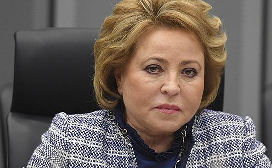 Спикер Совета Федерации Валентина Матвиенко во время визита в Японию
