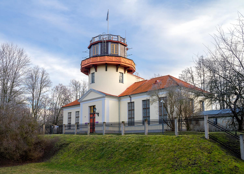 Старая Тартуская обсерватория, первая точка дуги