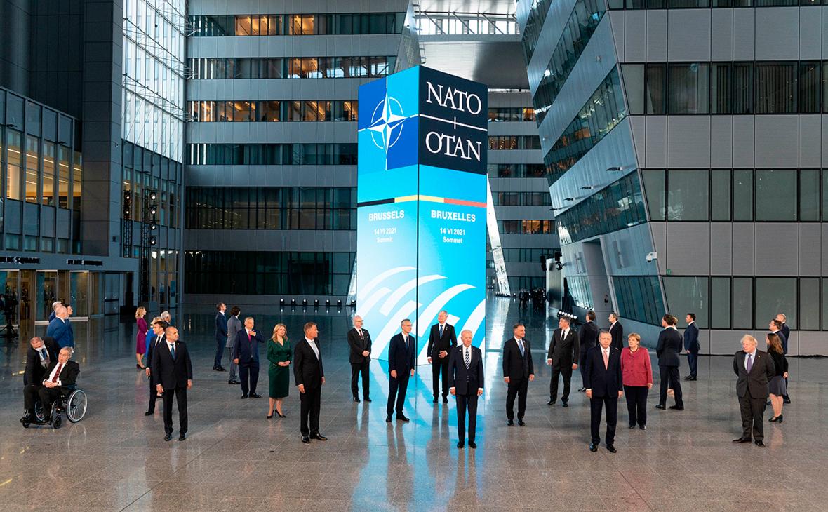 Лидеры стран-членов НАТО на встрече в Брюсселе