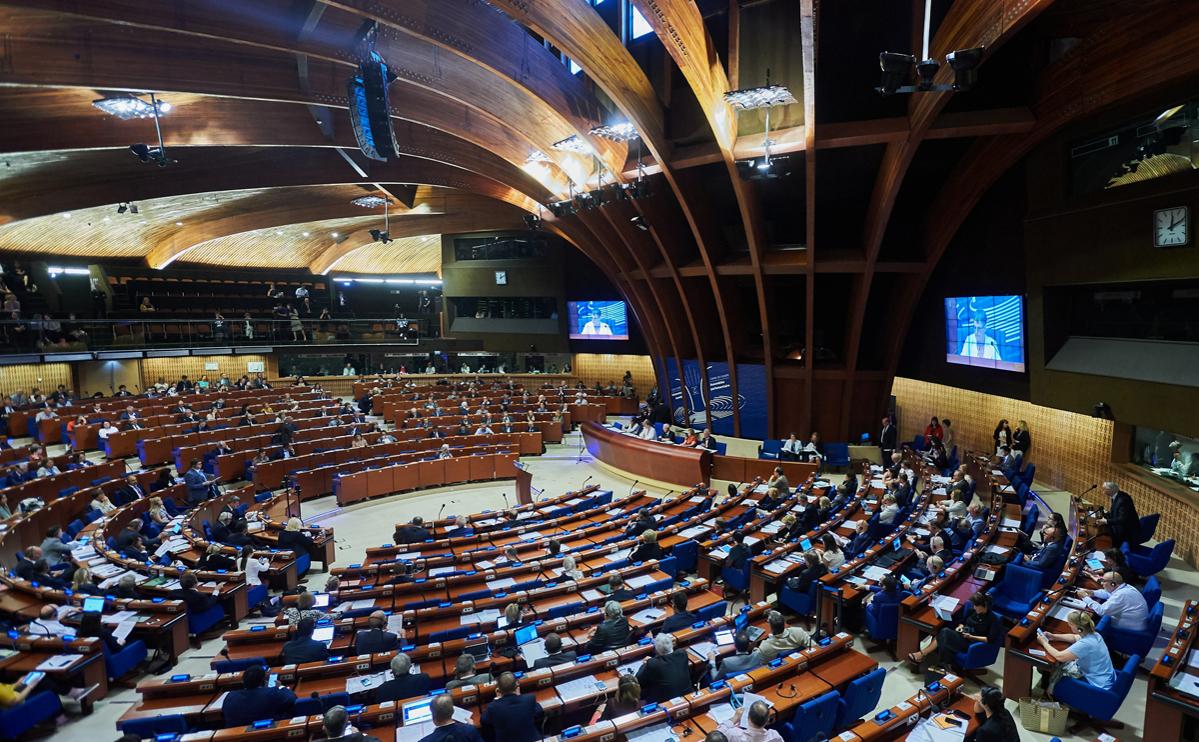 Зал заседаний Парламентской Ассамблеи