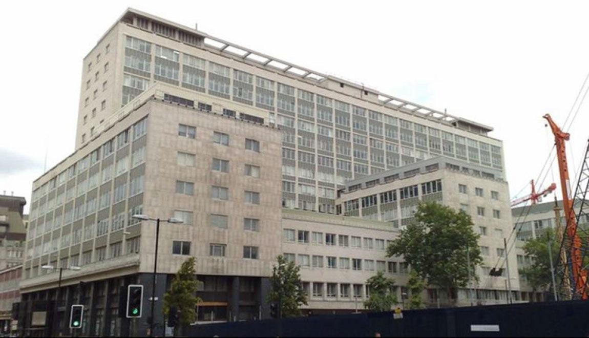 Так выглядел старый офис Bloomberg в Лондоне, на месте которого сейчас строится новый