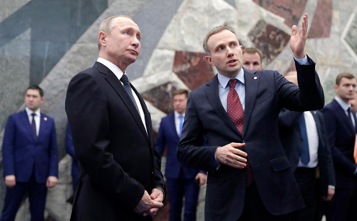 Владимир Путин иАртем Аветисян