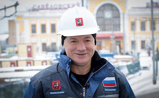 Заместитель мэра Москвы по вопросам градостроительной политики МаратХуснуллин