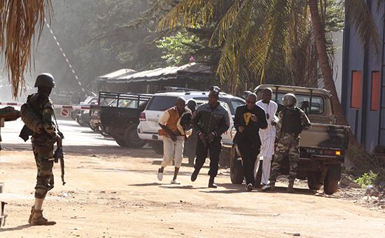 Освобожденные заложники. Мали, г. Бамако