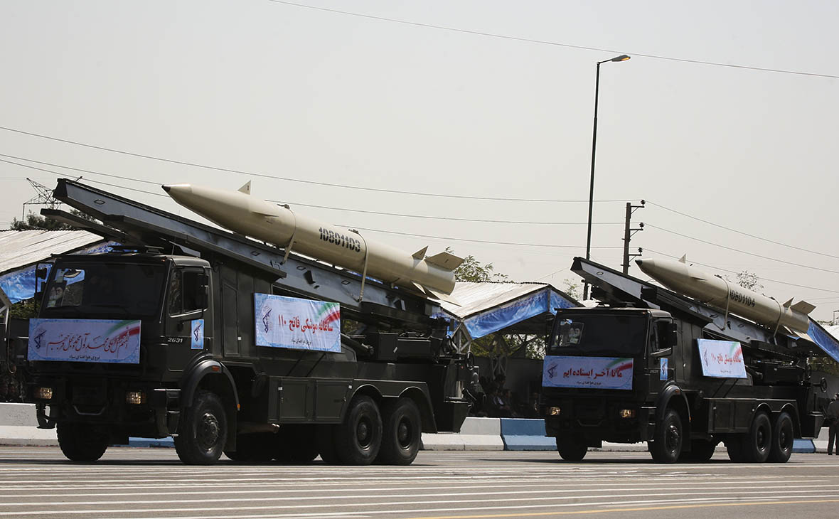 Баллистические ракеты Fateh-110