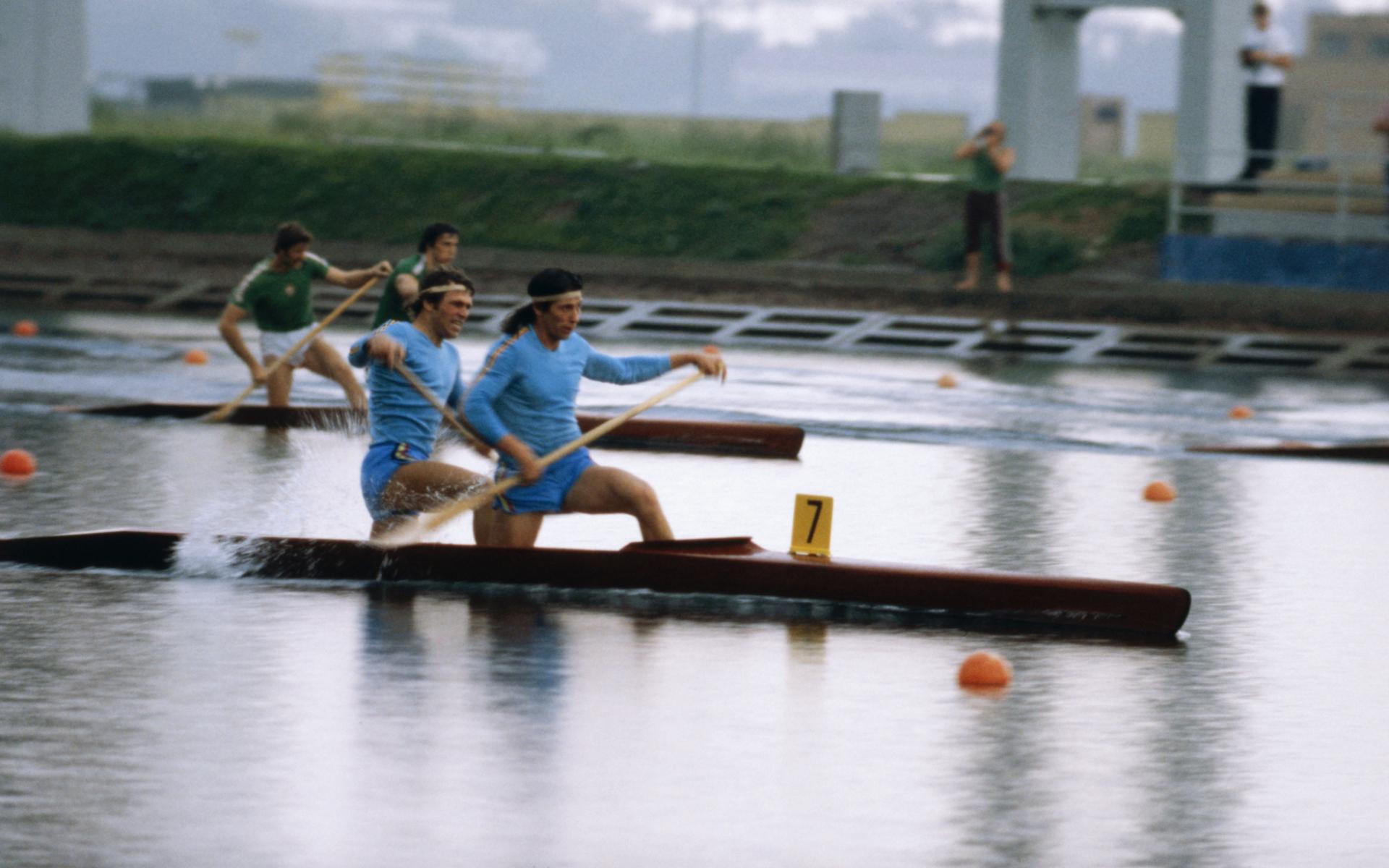 Иван Пацайкин и Тома Симеонов на Олимпиаде 1980 в Москве
