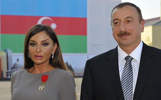 Мехрибан Алиева и Ильхам Алиев
