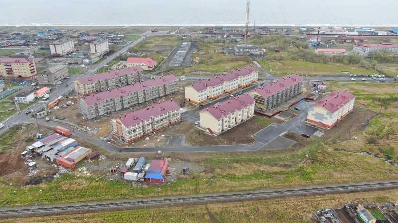 Самый восточный дом — вгороде Поронайске (Сахалинская область)