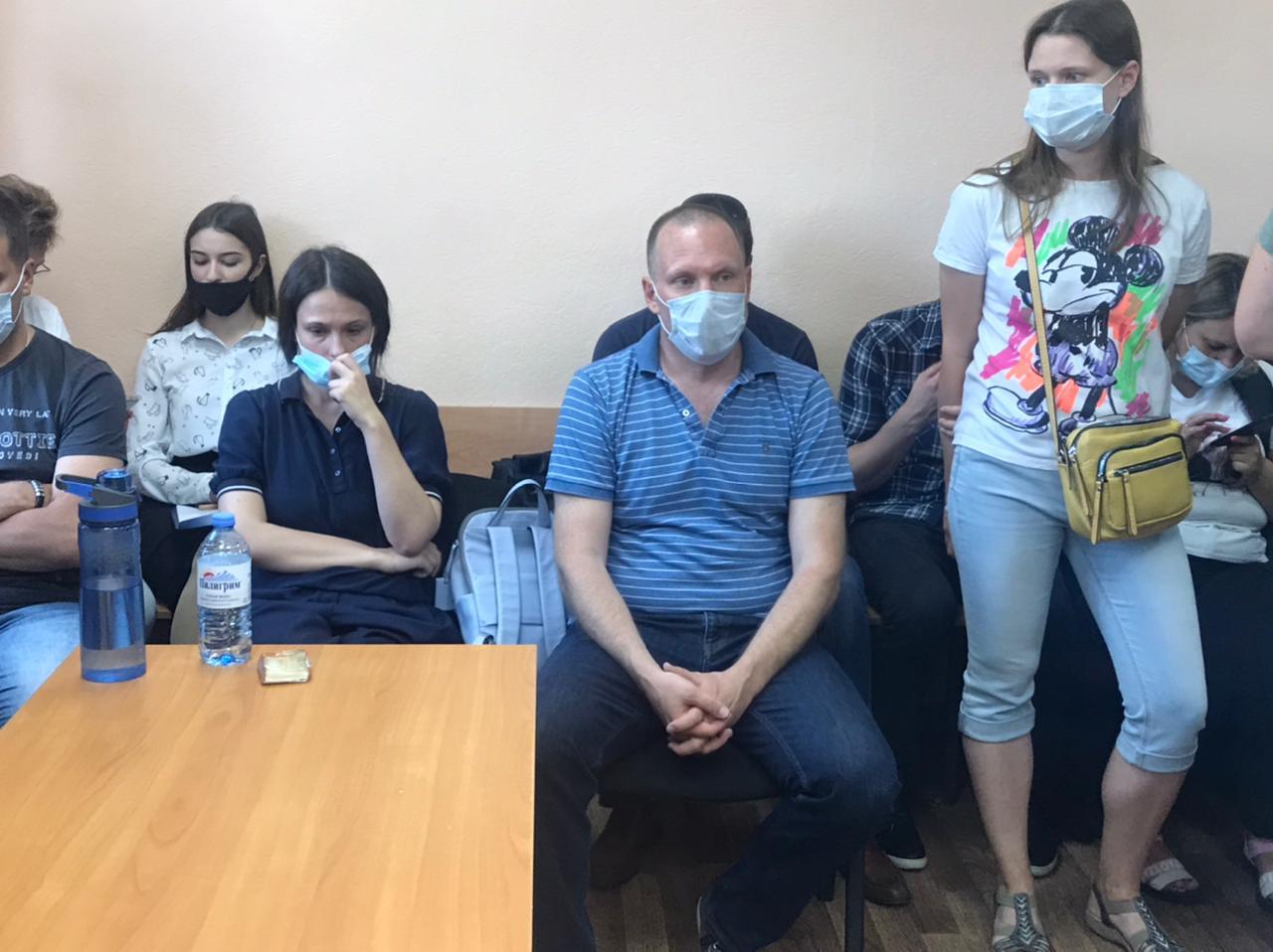 Артемий Кызласов в зале суда