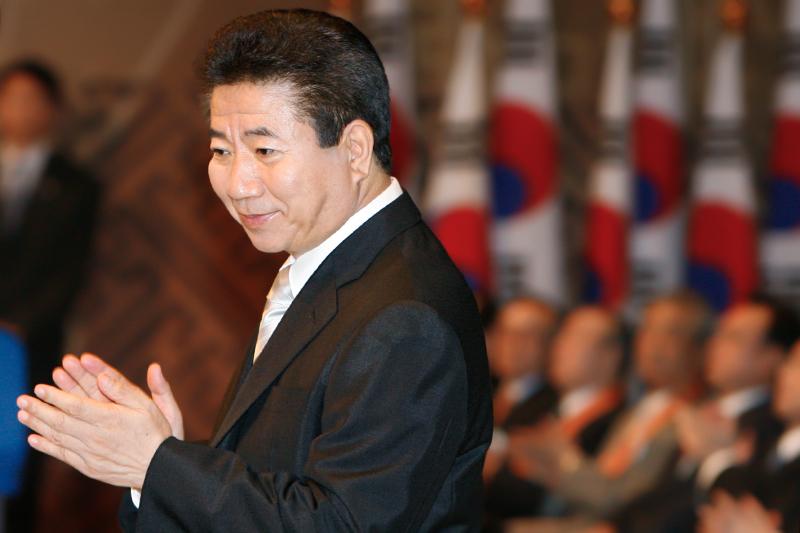 Бывший президент Южной Кореи Но Му Хен