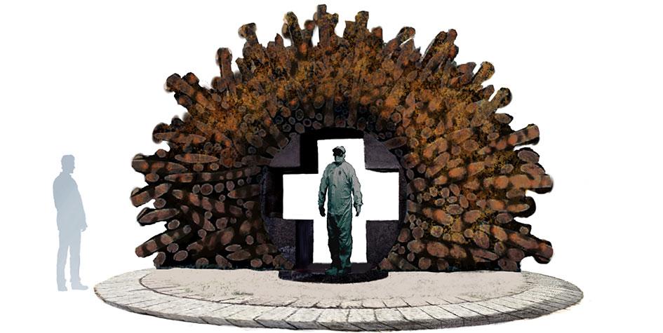 Фото: Возможный вариант памятника