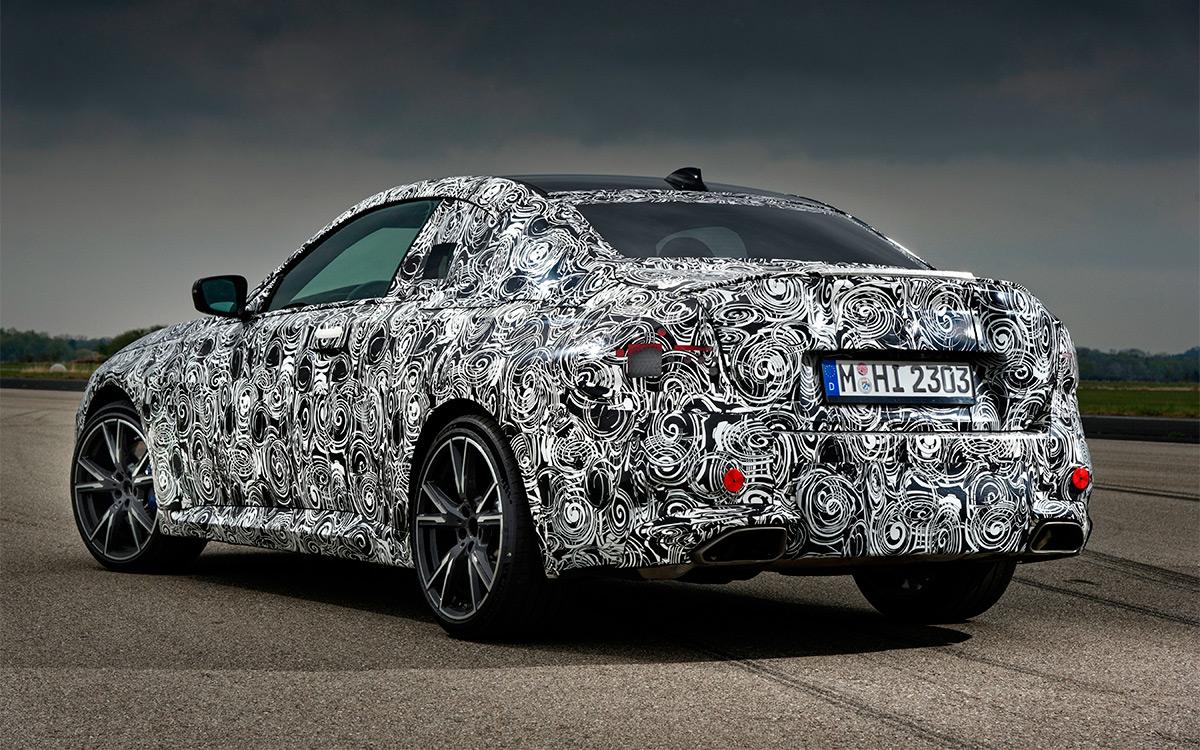 Тестовый прототип новой BMW M240i xDrive