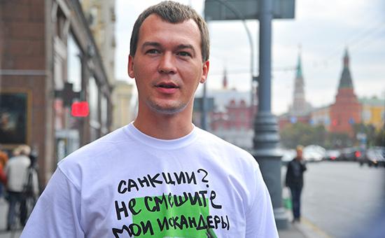 Член фракции ЛДПР Михаил Дегтярев