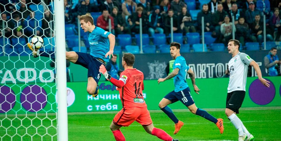 «Зенит» прервал двухмесячную безвыигрышную серию в чемпионате России