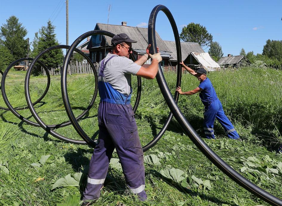 Путин поручил правительству обеспечить поэтапное завершение газификации страны к 2024 году и 2030 году