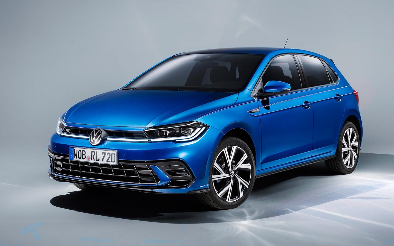 Volkswagen Polo получил внешность в стиле Golf и матричные фары :: Autonews