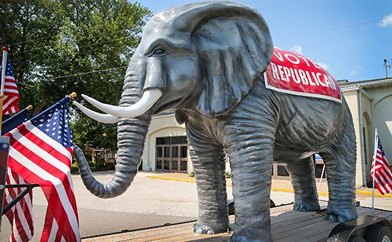 Слон - символ Республиканской партии