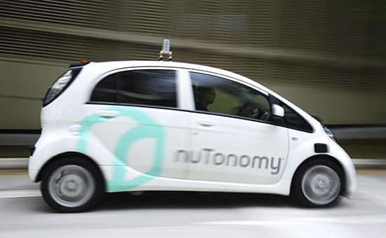 Первое в мире беспилотное таксикомпании nuTonomy