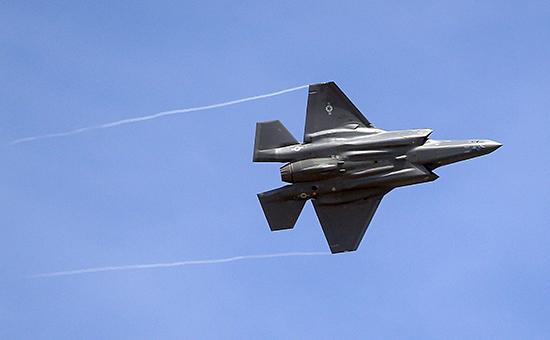 Истребитель F-35компании Lockheed Martin