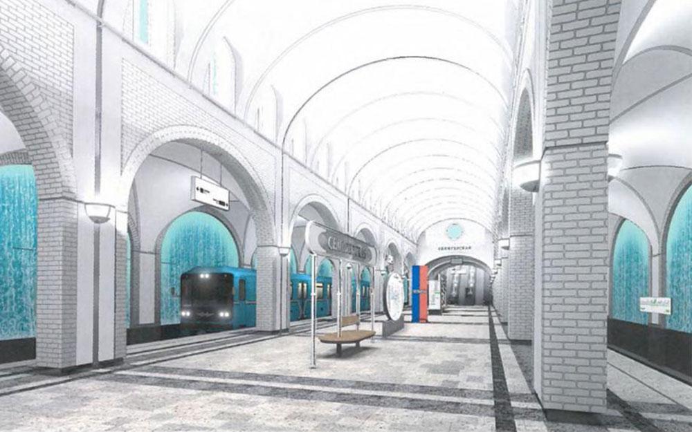 Станция «Селигерская» Люблинско-Дмитровской линии метро