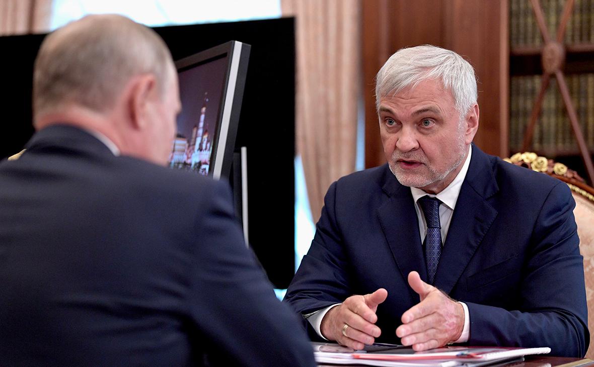 Владимир Путин и Владимир Уйба
