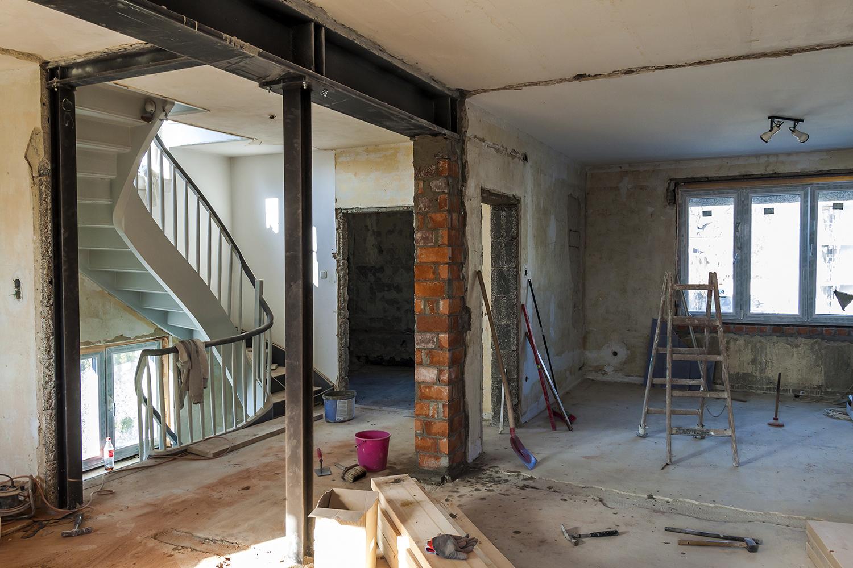 Черновая отделка— это подготовка поверхностей для ремонта