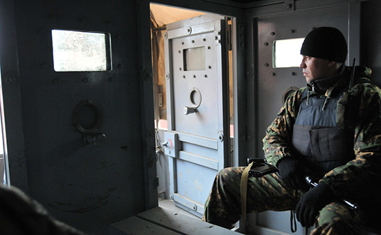 Сотрудник МВД Чечни, архивное фото