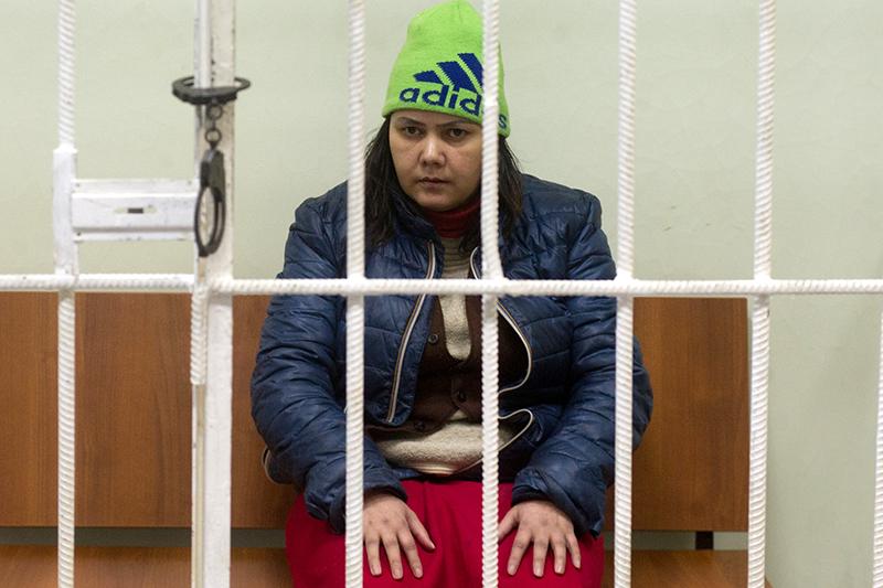 Гюльчехра Бобокулова в Хорошевском суде Москвы