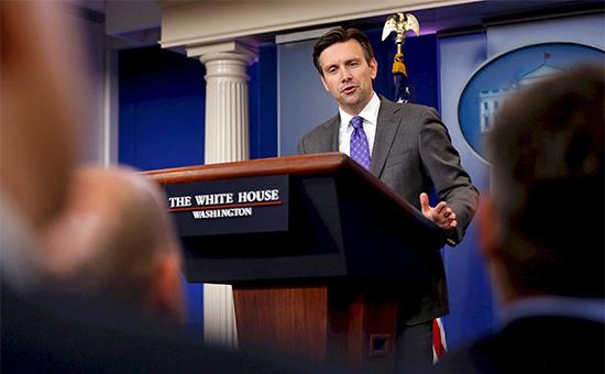 Пресс-секретарь Белого дома Джон Эрнест