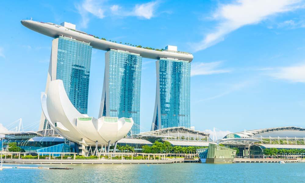Сингапур. Отель Marina Bay Sands