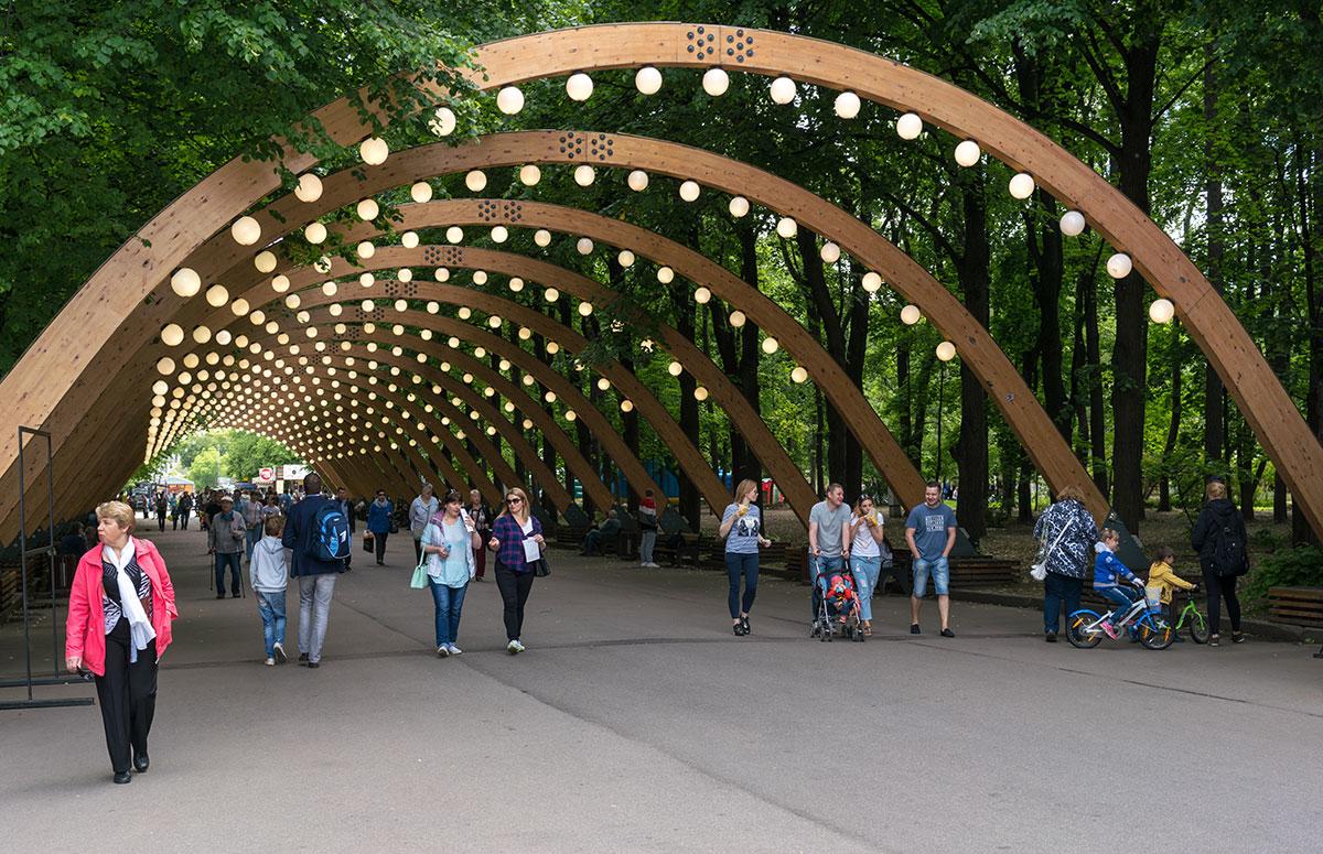 Аркада в парке «Сокольники»