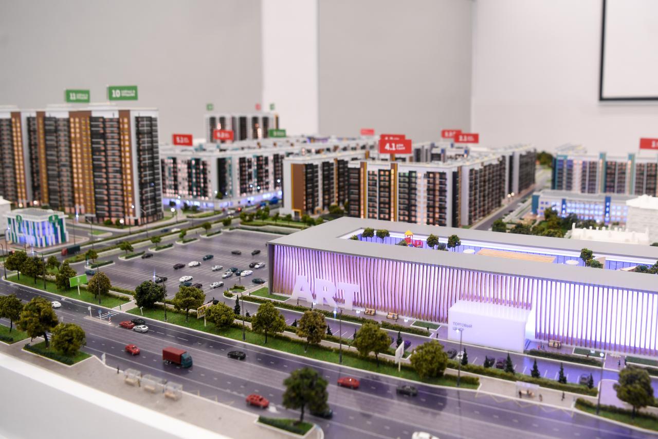 президенту Владимиру Путину презентовали макет ЖК«ART City»