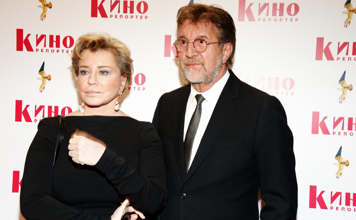 Леонид Ярмольник и его жена Оксана