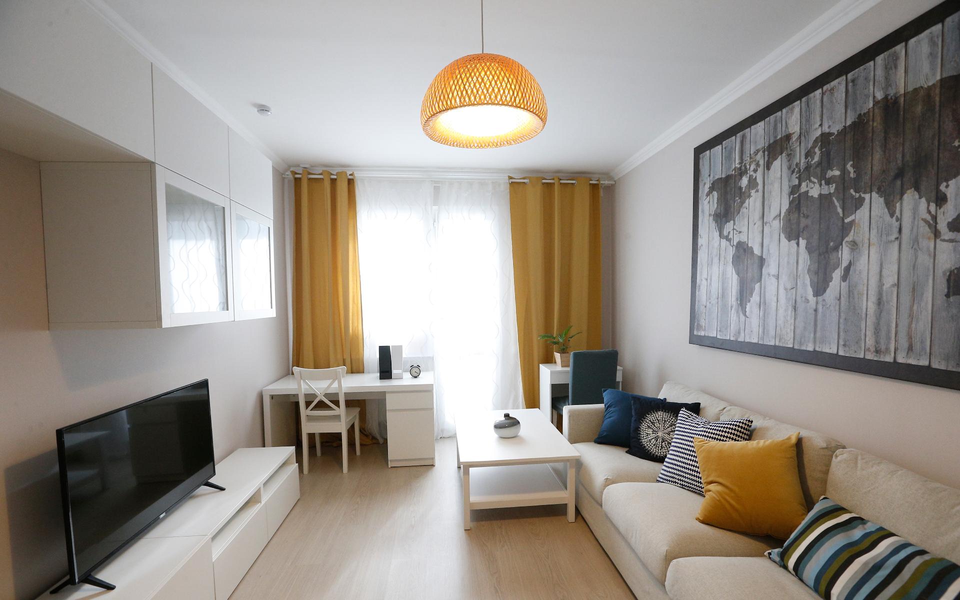 Интерьер квартиры в шоуруме по программе реновации в Москве