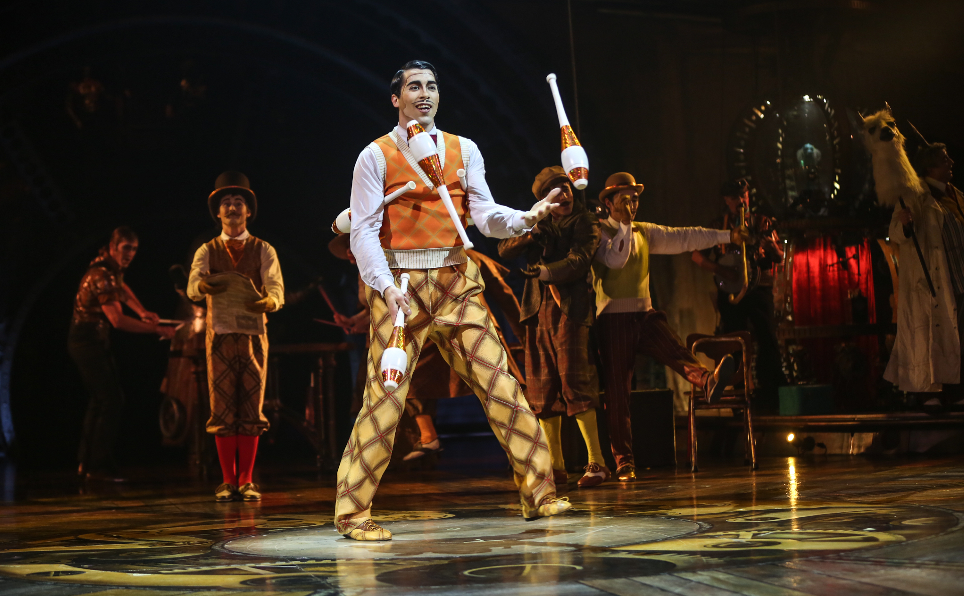 Запашный пожаловался Путину на проект Гуцериева и Cirque du Soleil